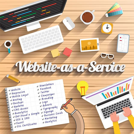 Website as a Service (WaaS)